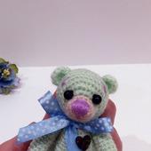 Мишка с цветным носиком