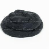 Толстая пряжа из шерсти мериноса 22 микрона. Цвет: Графит
