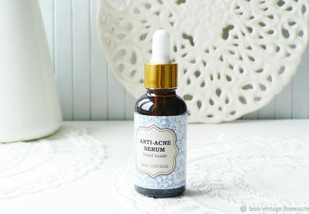 Сыворотка Anti-Acne для жирной кожи ручной работы на заказ