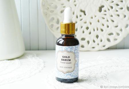 Сыворотка Gold для сухой кожи ручной работы на заказ