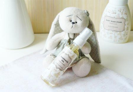 Детское массажное масло с лавандой ручной работы на заказ