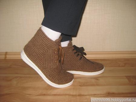 """Ботинки """"Верблюжка"""" ручной работы на заказ"""