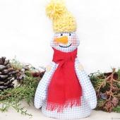 Снеговик 2019 интерьерная игрушка. Новогодний подарок 2019