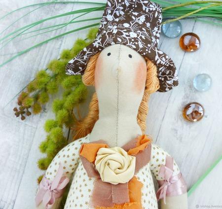 Кукла тильда добрая ведьма Хэндмейд ручной работы на заказ