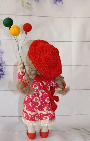 Кукла Оля ручной работы на заказ