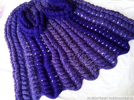 Вязаный кардиган Шиншилла от Knit by Heart ручной работы ручной работы на заказ