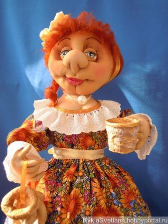 Грелка на чайник Софья ручной работы на заказ