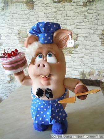Поросенок Пончик ручной работы на заказ