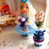 Кукла - Алиса в стране чудес