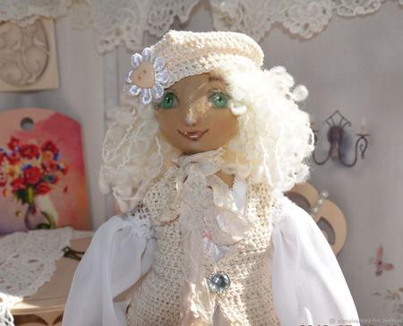 Кукла Элис. Романтичная Парижанка ручной работы на заказ