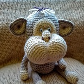 Игрушка обезьянка