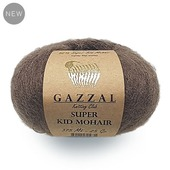 Пряжа Gazzal Super Kid Mohair