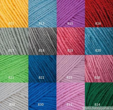 Пряжа Gazzal Baby Wool ручной работы на заказ