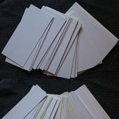 Картон для рукоделия скрапбукинга два размера