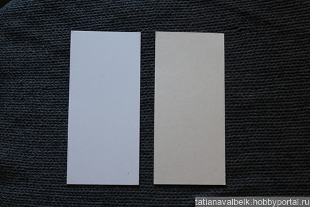Картон для рукоделия скрапбукинга два размера ручной работы на заказ