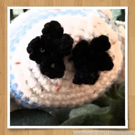 Сова игрушка-брелок ручной работы на заказ