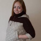 Свитер-куртка-анорак Мокко