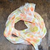 Длинный льняной шарф