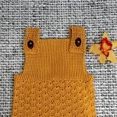 Вязаный детский песочник