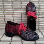 """Валяные туфли """"Уютные"""""""