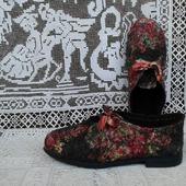 """Туфли валяные """"Для города N"""""""