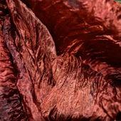Шарф  палантин красно коричневый шелковый подарок женщине