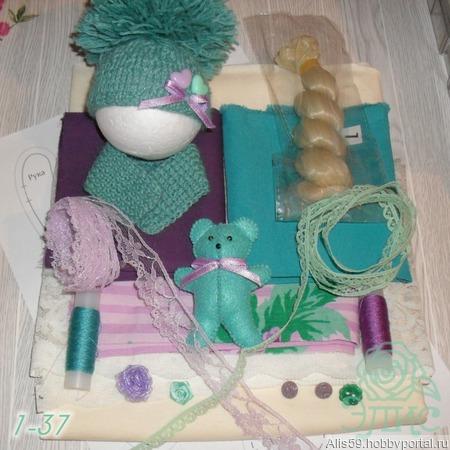 Набор для шитья куклы 37-43 ручной работы на заказ