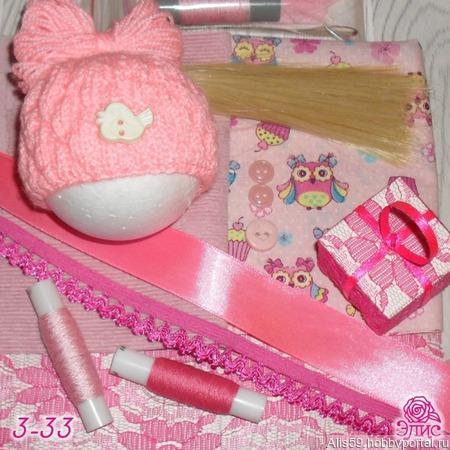 Набор для изготовления куклы 30-34 ручной работы на заказ
