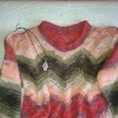 """Мохеровый пуловер """"Изящество"""""""