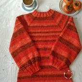 """Платье-свитер """"Спелая ягода"""""""