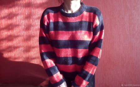 """Мягкий женский свитер """"Фредди"""" ручной работы на заказ"""