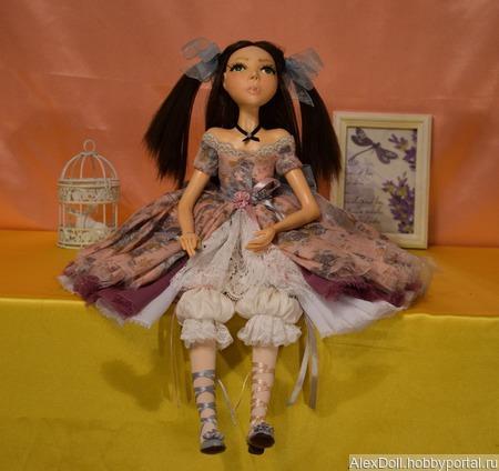Коллекционная авторская кукла Ева ручной работы на заказ