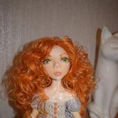 Коллекционная авторская кукла Агния