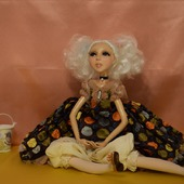 Авторская кукла Амели