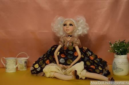 Авторская кукла Амели ручной работы на заказ