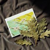 """Почтовая открытка """"У души цветочное настроение"""""""