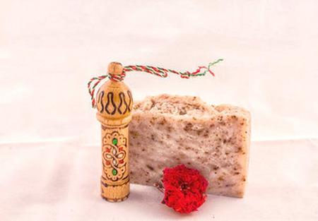 """Натуральное мыло """"Долина роз"""" ручной работы на заказ"""