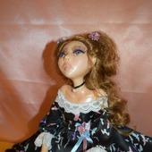 Коллекционная авторская кукла Стефани