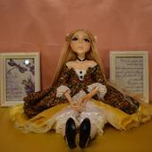 Коллекционная авторская кукла Лулу