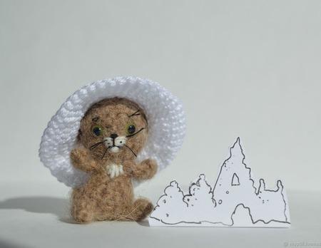 Котенок-львенок ручной работы на заказ