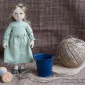 Коллекционная куколка Рукодельница
