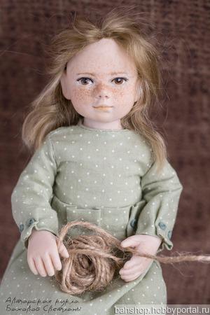 Коллекционная куколка Рукодельница ручной работы на заказ
