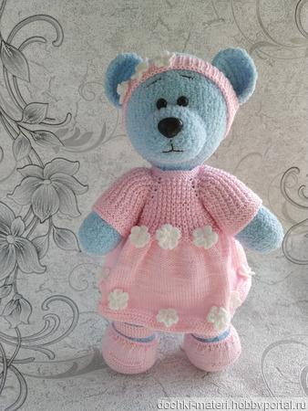 Медвежонок-девочка ручной работы на заказ