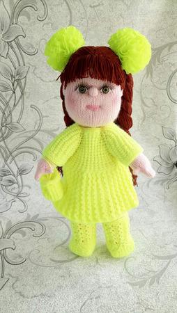 "Кукла ""Юля"" ручной работы на заказ"