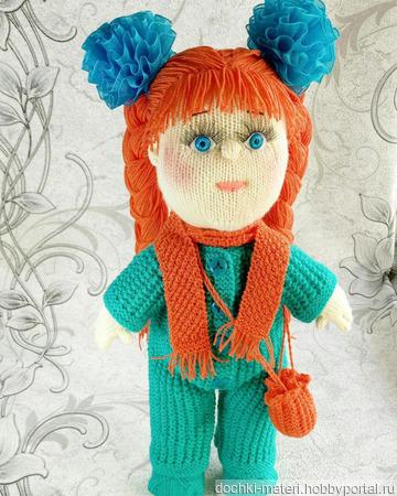 "Кукла ""Марина"" ручной работы на заказ"