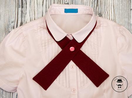 Галстук для школьника ручной работы на заказ