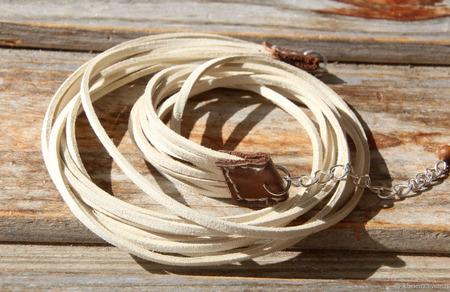 Сет браслетов «Дикий север» ручной работы на заказ