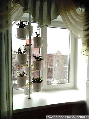Распорка на подоконник для средних растений №10 ручной работы на заказ
