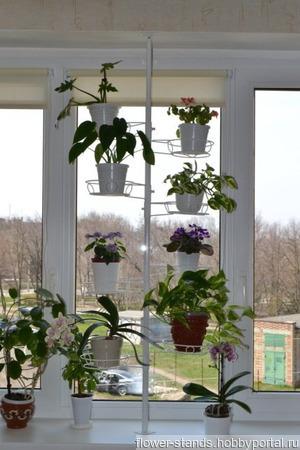 Распорка для крупных растений на 8 горшков ручной работы на заказ