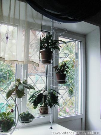 Распорная подставка для средних растений 12 держателей ручной работы на заказ